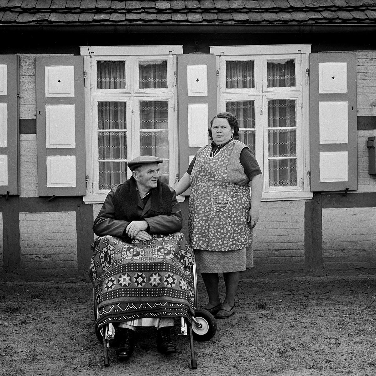 """Barbara Wolff, aus der Serie """"Sechzehneichen"""""""